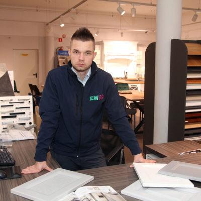 Krystian Arasimowicz – projektant z pasją