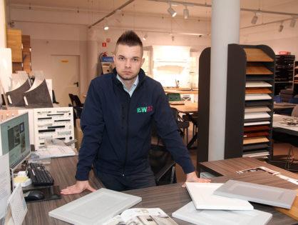 Krystian Arasimowicz - projektant z pasją