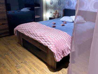 Romantyczny klimat w sypialni